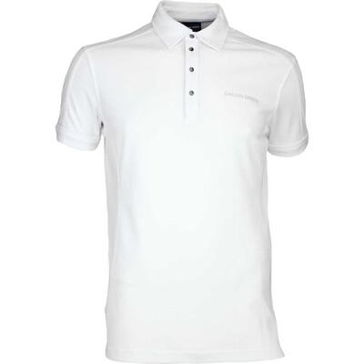 Galvin Green Golf Shirt MILLS Tour White AW16