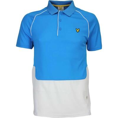 Lyle Scott Golf Shirt Newstead Borders Blue AW16