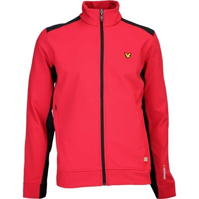 Lyle Scott Golf Jacket Leithen Thermal Bright Red SS17