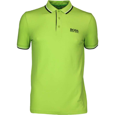 Hugo Boss Golf Shirt Paddy Pro Green Glow FA16