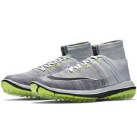 Image of Nike Golf Shoes - Flyknit Elite - Pure Platinum - Volt 2017