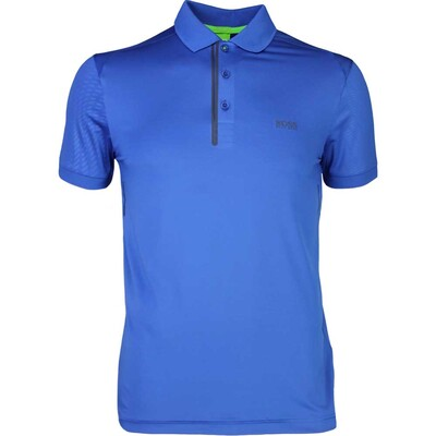Hugo Boss Golf Shirt Pavotech Monaco Blue PS17