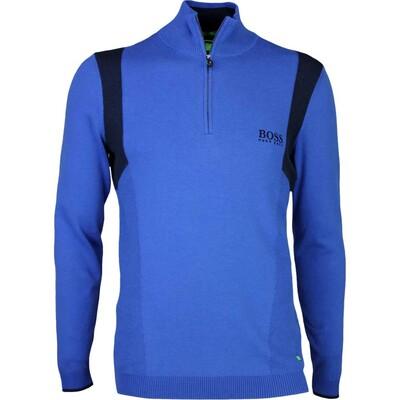 Hugo Boss Golf Jumper Zelchior Pro Monaco Blue PS17