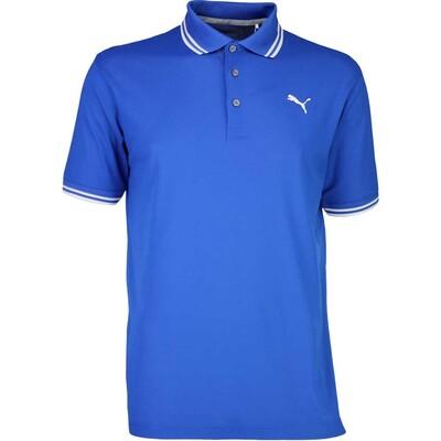 Puma Golf Shirt Pounce Pique True Blue SS17