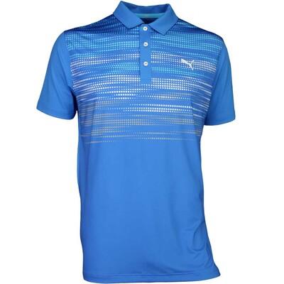 Puma Golf Shirt Uncamo French Blue SS17