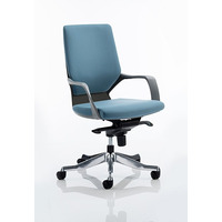 Image of Xenon Executive Chair Black Shell with Blue Fabric