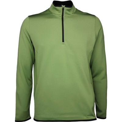 Nike Golf Pullover Hypervis Half Zip Palm Green SS17