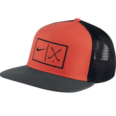 Nike Golf Cap NK Aerobill True Snapback Max Orange SS17
