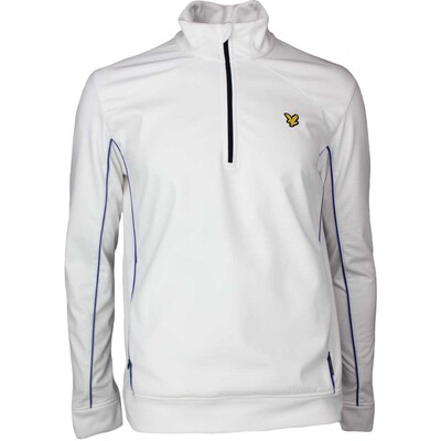 Lyle Scott Golf Pullover Huntley Thermal White SS17