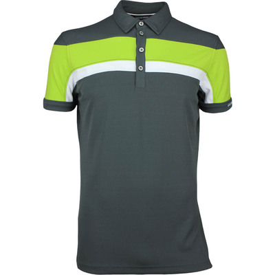 Galvin Green Golf Shirt MITCHELL Ventil8 Plus Iron Grey SS17