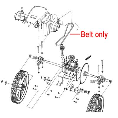 Billy Goat Billy Goat MV Series Drive Belt 840066