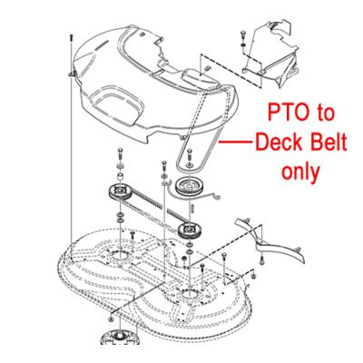 Stiga Stiga Villa 320 HST PTO Deck Belt 1134-9169-01
