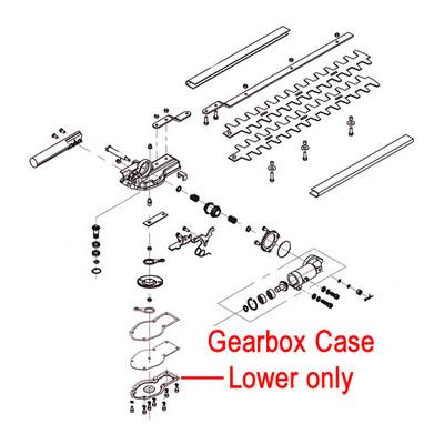 Mitox Mitox 26LH-SP 26MT-SP Gearbox Case Lower MIC26.0615.0014