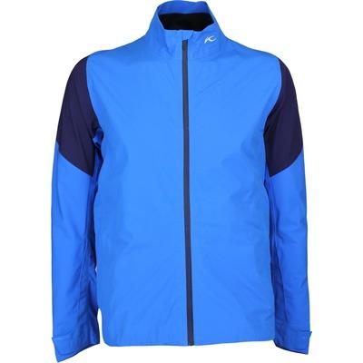 KJUS Waterproof Golf Jacket PRO 3L Palau Blue SS17