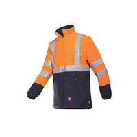 Rainier High Vis Orange FR Fleece Jacket