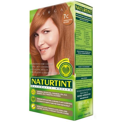 Naturtint Permanent Natural Hair Colour 7C Terracotta Blonde 170ml