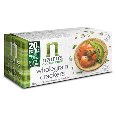 Nairn's Gluten Free Wholegrain Crackers 137g
