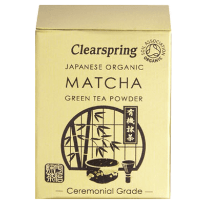 Clearspring Japanese Organic Matcha Green Tea Powder 30g