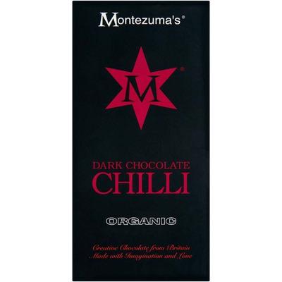 Montezuma's Organic Dark Chocolate Chilli Bar 100g