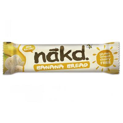 Nakd Nibble Banana Bread Bar 30g - Pack of 18