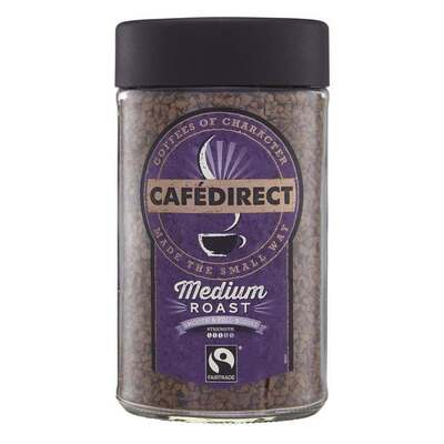 Cafedirect Medium Roast Instant Coffee 100g