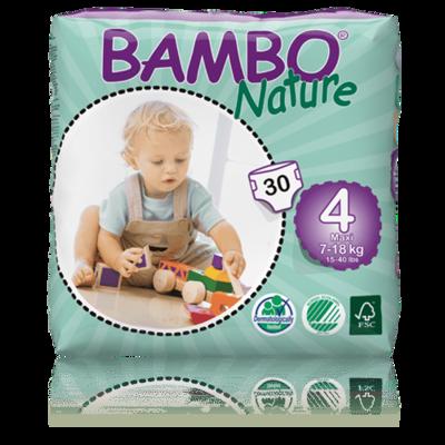 Bambo Nature Maxi Nappies - Size 4