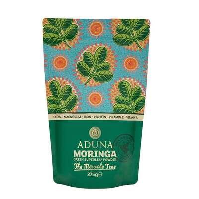 Aduna 100% Organic Moringa Superleaf Powder 275g