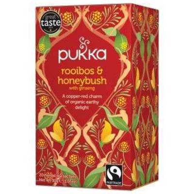 Pukka Rooibos & Honeybush Ginseng Tea 20 Bags