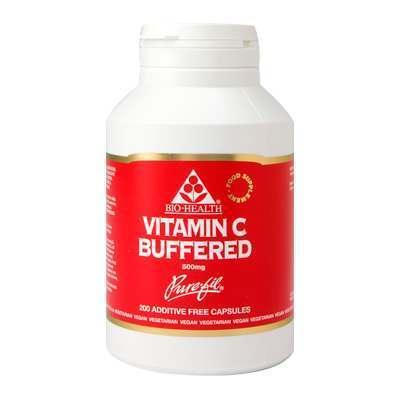 Bio Health Vitamin C Buffered 500mg 200 Capsules