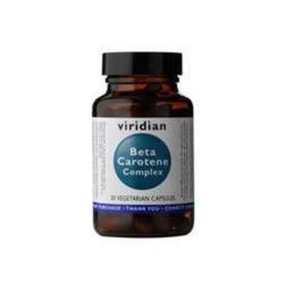 Viridian Beta Carotene Complex 15mg 30 Capsules