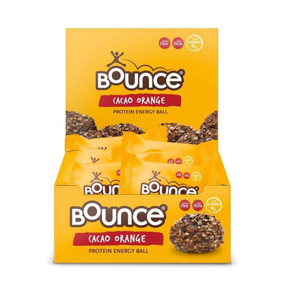 Bounce Cacao Orange Protein Burst Ball 42g - Pack of 12
