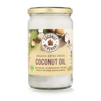 Coconut Merchant Raw Organic Extra Virgin Coconut Oil 1 Litre