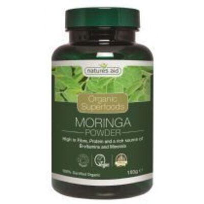 Natures Aid Organic Moringa Powder 150g