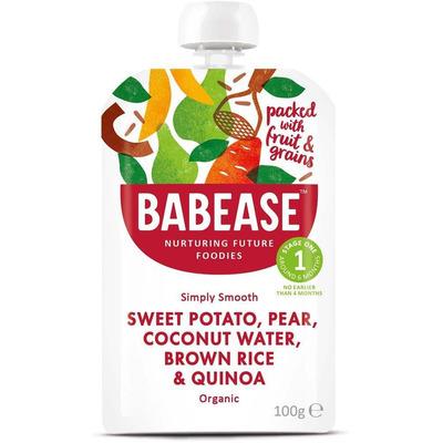 Babease Organic Sweet Potato & Pear 100g - Stage 1 - Box of 8