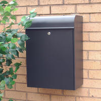 Parcel Letterbox post box for multiple deliveries of letters and