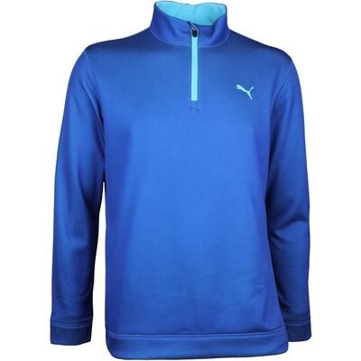 Puma Golf Pullover Disruptive Q Zip Lapis Blue AW17