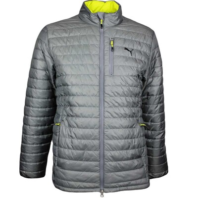 Puma Golf Jacket PWRWARM Quilted Quiet Shade AW17