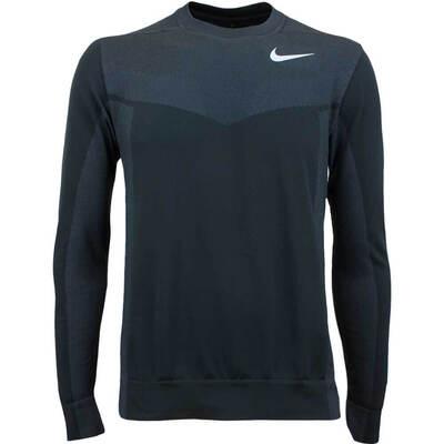 Nike Golf Jumper NK Dry Knit Brushed Crew Black AW17
