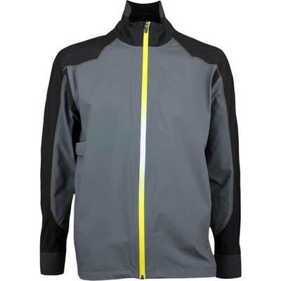 Galvin Green C Knit Waterproof Golf Jacket ACHILLES Iron Grey 2017