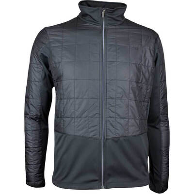Galvin Green Golf Jacket BRUCE Quilted Windstopper Black AW17