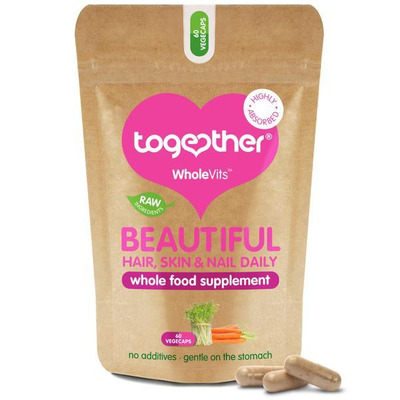 Together WholeVit Beautiful Hair, Skin & Nail Supplement 60 Capsules