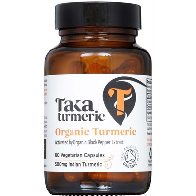 Taka Turmeric & Black Pepper Extract 60 Capsules