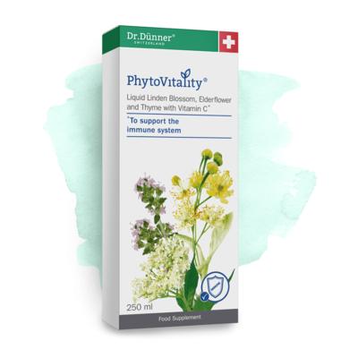 Dr Dunner Liquid Linden Blossom, Elderflower & Thyme with Vitamin C 250ml