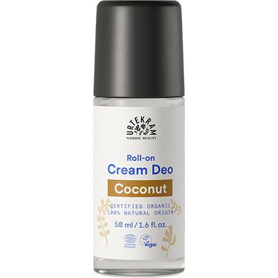 Urtekram Organic Coconut Cream Deodorant Roll On 50ml