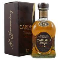 Cardhu 12 Year Old Whisky