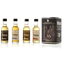 BenRiach Classic & Peated Minis Gift Pack 4x5cl