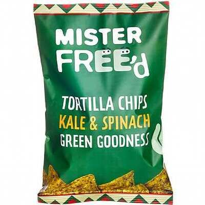 Mister Free'D Tortilla Chips with Kale & Spinach 135g