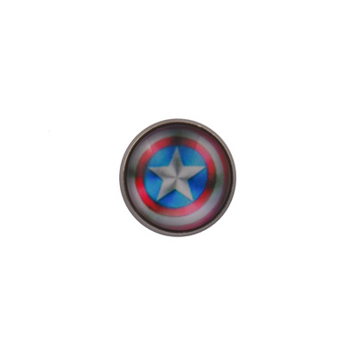 Captain America Shield Lapel Pin