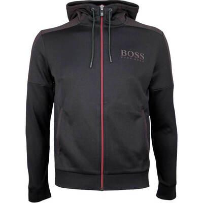 Hugo Boss Golf Jacket Saggy Hoodie Black PS18