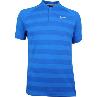 Nike Golf Shirt Zonal Cooling Momentum Blade Blue Nebula SS18